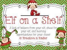 Elf on a shelf freebie