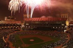 The Oakland A's host the best fireworks shows in the Bay Area. Fans are invited to watch from the field. Bring your family to the next fireworks night!