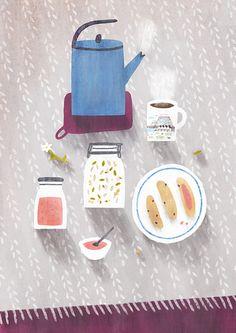 'Daily menu' by Nastia Sleptsova