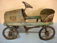 Antique child's toy car.