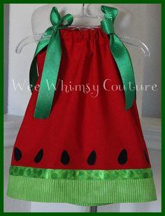 Spring Summer Red Watermelon dress