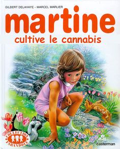 martine grows cannabis