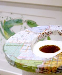 DIY Maps Letters - Craft Ideas with Maps