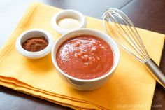 Easy Enchilada Sauce | Inspiration Kitchen - Enchilada sauce is simple and easy (and healthy!) to make at home, and it's so much more flavorful than store bought!