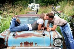 country photos, engagement pictures, engagement photos, old trucks, engagement photo shoots, engagement pics, country life, old cars, countri