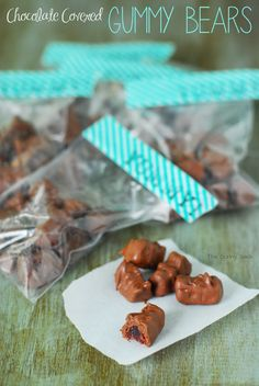 Chocolate Covered Gummy Bears Recipe