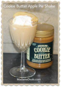 Cookie Butter Apple Pie Shake http://madamedeals.com/cookie-butter-apple-pie-shake/ #cookiebutter #inspireothers