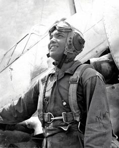 Kenneth Caines, 1944, at the Tuskegee Army Air Corp Training Facility