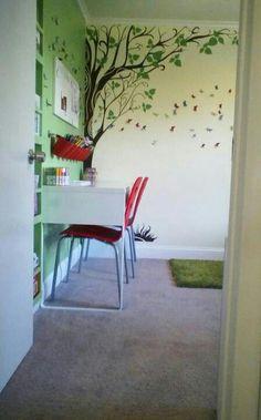 Woodland gnome bedroom scarlett kylie on pinterest for Scalette ikea