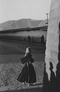 Sergio Larrain :: Cusco Peru 1960