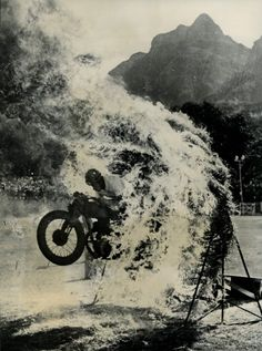 motorcycles, balls, bike, ghost rider, ghosts