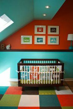 Planes, trains & autos: Baby nurseries that go vroom! | #BabyCenterBlog #ProjectNursery