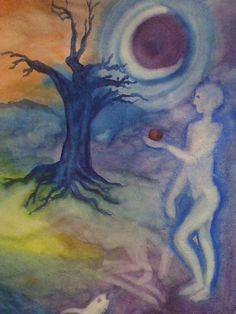 Waldorf ~ ??? ~ watercolor painting