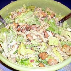 "Macaroni Caesar Salad | ""This was such a great twist on a salad. I took it to a potluck where there were several salads and this was the only one that people were asking who brought this salad."" -Rhonda C"