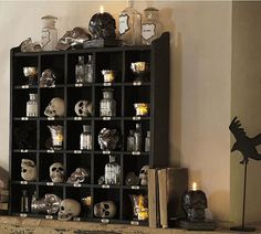 40 spooky Halloween decorating ideas for your stylish home.