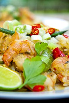 Thai Fried Rice with Prawns #recipe #seafood #dinner