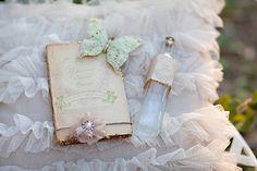 midsumm night, dreams, butterflies, herbs, night dream, ring bearer pillows, couple shoot, glitter, rustic chic weddings