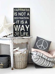 ... ♥ ... rustic. vintage. nordic style . decor. home