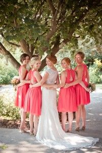 Romantic barn wedding by Madison Rose Photography #bridesmaids #photography #lacedress