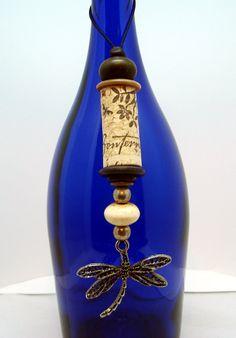Wine Cork Ornament by ButterflyCreekJewels on Etsy