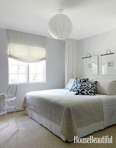 An Alabama cottage bedroom. Design: Lindsey Bond.