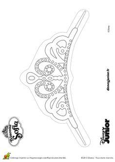 Dibujo para colorear de la Princesa Sofía (nº 11)