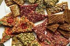 CREATIVE RAW CRACKERS ~ #Raw Foods Made Simple