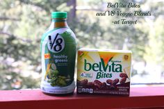 BelVita Bites and V8
