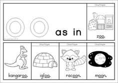Phonics Flip Books - 36 booklets (in color and black and white) to help children learn those special multiple letter sounds