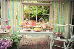 French patisserie bridal shower