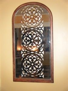 Stenciled Mirror