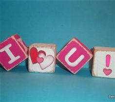 These are some fun blocks to make for Valentines day! By CreativeCrafter