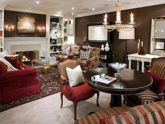 Basement Décor Ideas by Candice Olson | InteriorHolic.