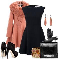 little black dress fashion style