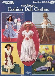 free pattern crochet fashion, doll clothes, fashion books, fashion dolls, barbi doll, crochet crafts, barbie, crochet patterns, barbi fashion