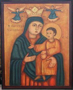 coptic icon, mother, icon orthodox