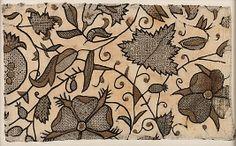 Fragment of Blackwork - ca. 1590 -  British - MET (New York)