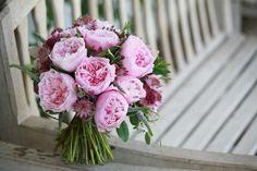 Bouquet of David Austin Roses