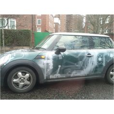 Check out this cool MINI paint job!
