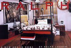 "Ralph Lauren Home Archives, ""Ralph"" collection, Bedroom, 1995"