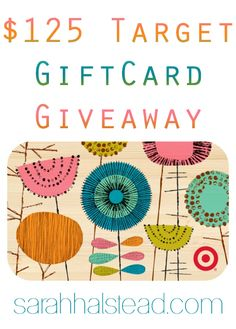 $125 Target Gift Card Giveaway