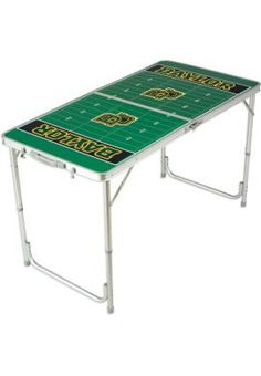 Folding #Baylor tailgate table -- saw one of these at the game last week! ($79.00 at Baylor Bookstore) #SicEm