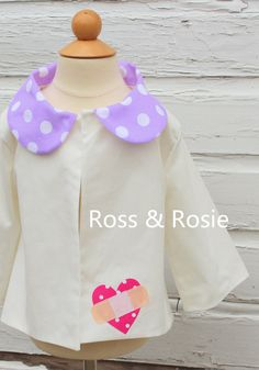 Doc McStuffins inspired Dress Up Swing Coat by rossandrosiedesigns, $60.00