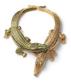 Alligator necklace!