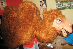 how to make a camel costume for adults