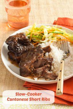 Crock Pot recipes: Slow-cooker Cantonese Short Ribs