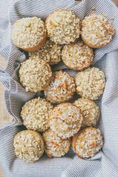 Toasted Oatmeal and Coconut Muffins
