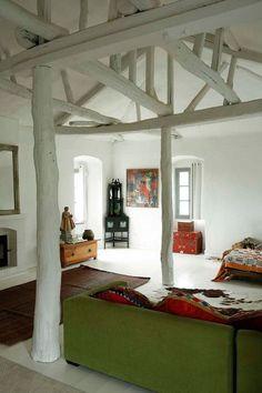 bluepueblo:  Log House, Isle of Corsica, France photo via chelsea