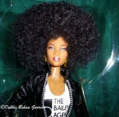 One World Project Cynthia Bailey Prettie Girl doll as photographed by Black Doll Collector, Debbie Behan Garrett. http://blackdollcollecting.blogspot.com/2014/01/limited-edition-cynthia-bailey.html?showComment=1390867441090#c4328760704061708607