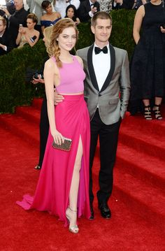 Emma Stone & Andrew Garfield | The 18 Best-Dressed Celebrity Couples At The Met Gala